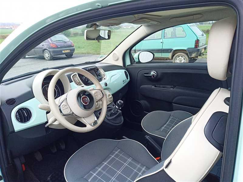 Fiat 500 LOUNGE 1.2i 69CV 8V
